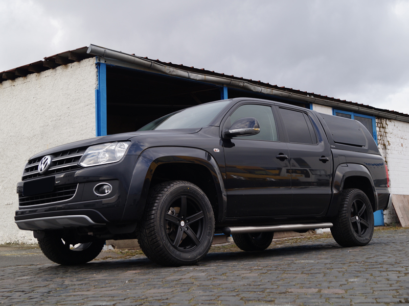 uros 18 zoll auf vw amarok deluxe wheels deutschland gmbh. Black Bedroom Furniture Sets. Home Design Ideas