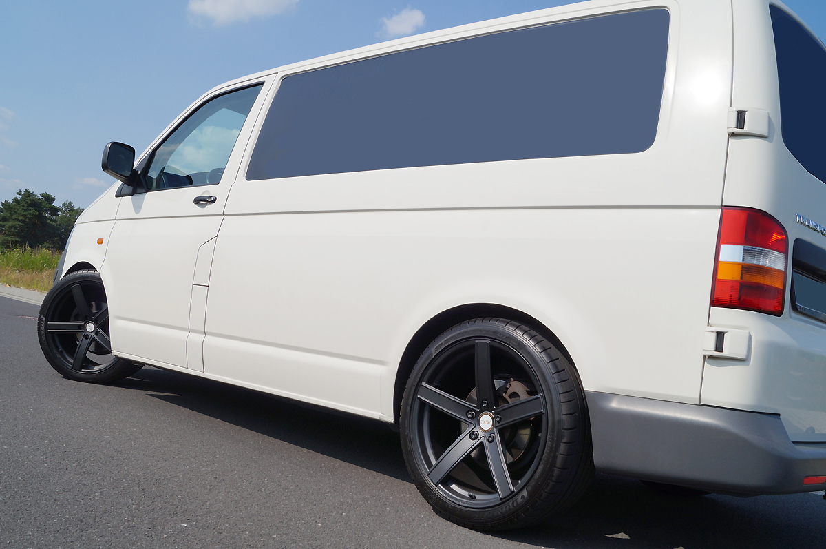 vw t5 transporter mainhattan wheels leichtmetallr der gmbh. Black Bedroom Furniture Sets. Home Design Ideas