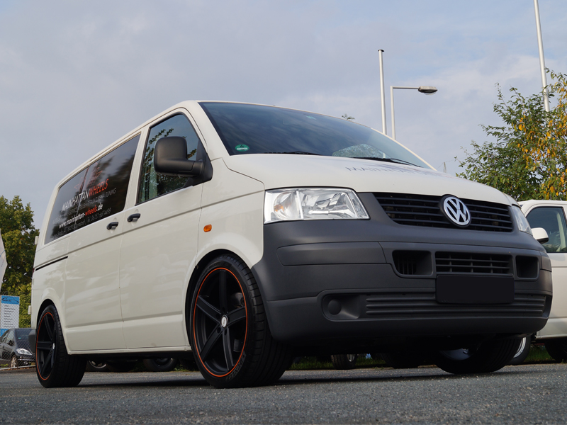 Mainhattan Wheels Vw T5 Uros Schwarz Orange Deluxe