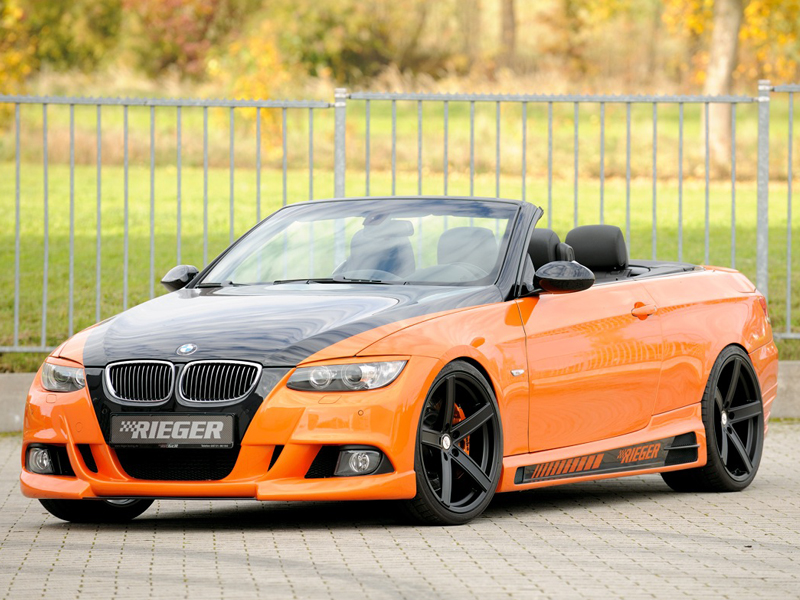 bmw 3er cabrio e93 rieger tuning deluxe wheels. Black Bedroom Furniture Sets. Home Design Ideas