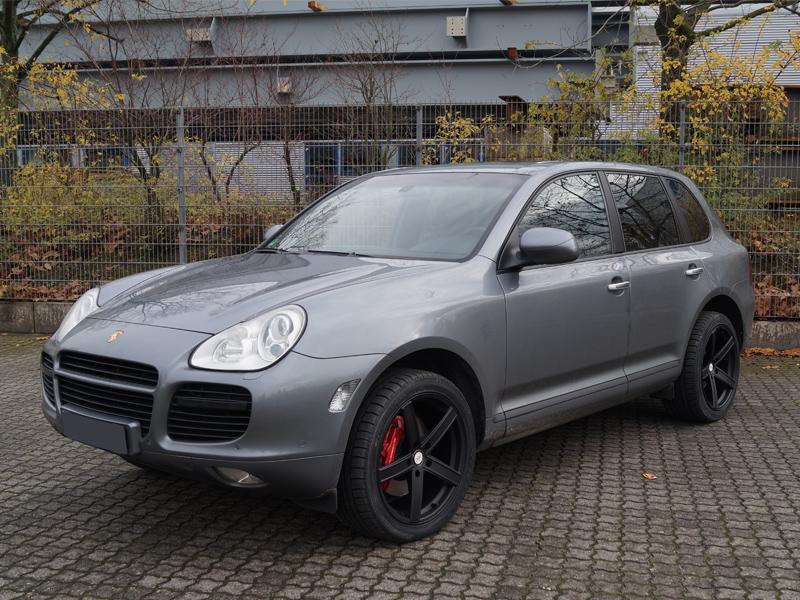 Porsche Cayenne Turbo 9pa Deluxe Wheels Deutschland Gmbh