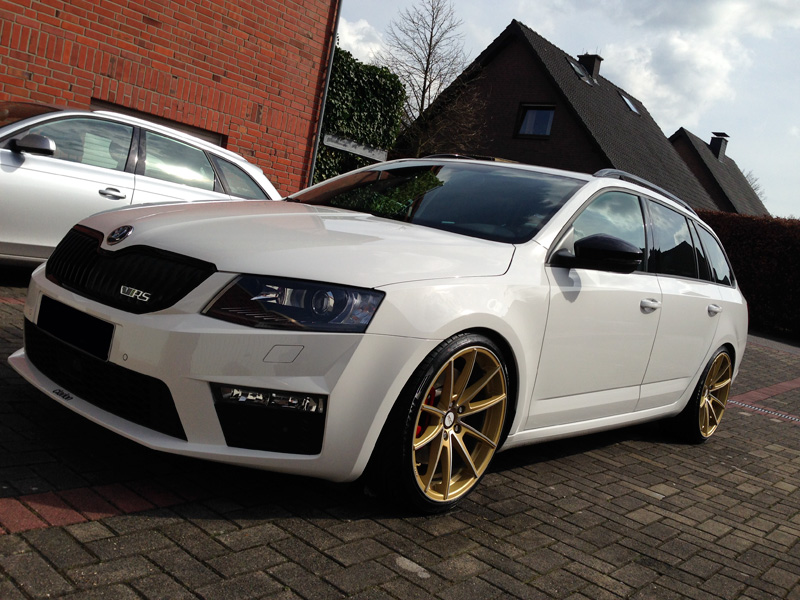 manay auf skoda octavia rs combi deluxe wheels. Black Bedroom Furniture Sets. Home Design Ideas