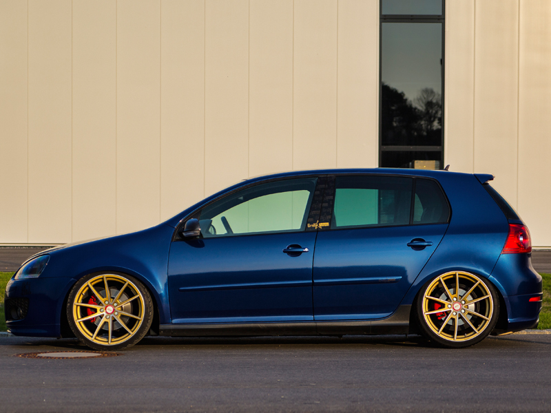 Vw Golf V Ground Pictures Deluxe Wheels Deutschland Gmbh