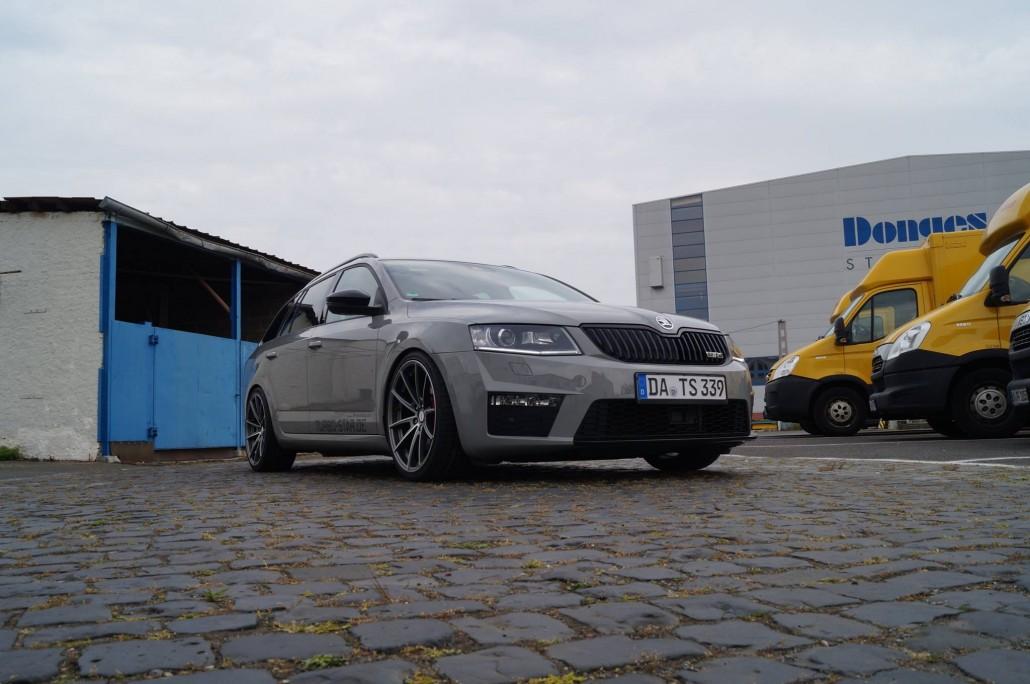 Skoda Octavia Rs Combi Quot Turbo Star Quot Mainhattan Wheels