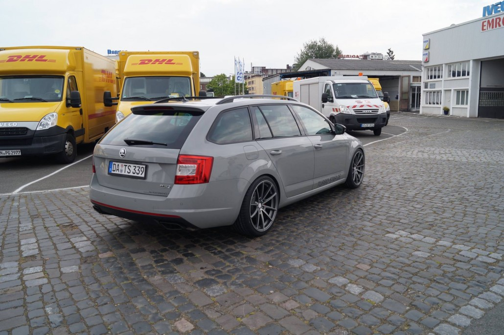 Skoda Octavia Rs Combi Quot Turbo Star Quot Deluxe Wheels