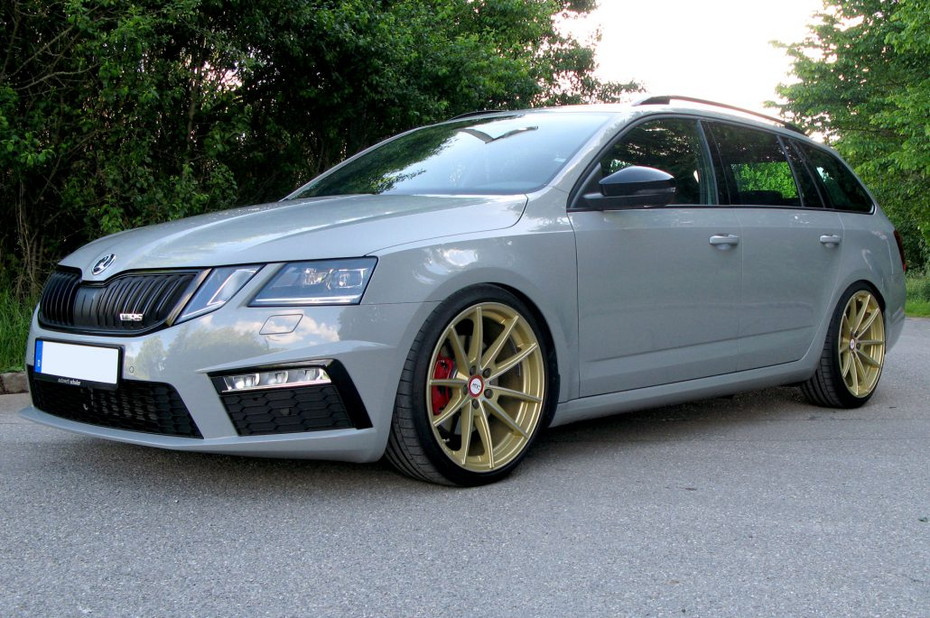 skoda octavia rs 5e facelift deluxe wheels deutschland. Black Bedroom Furniture Sets. Home Design Ideas