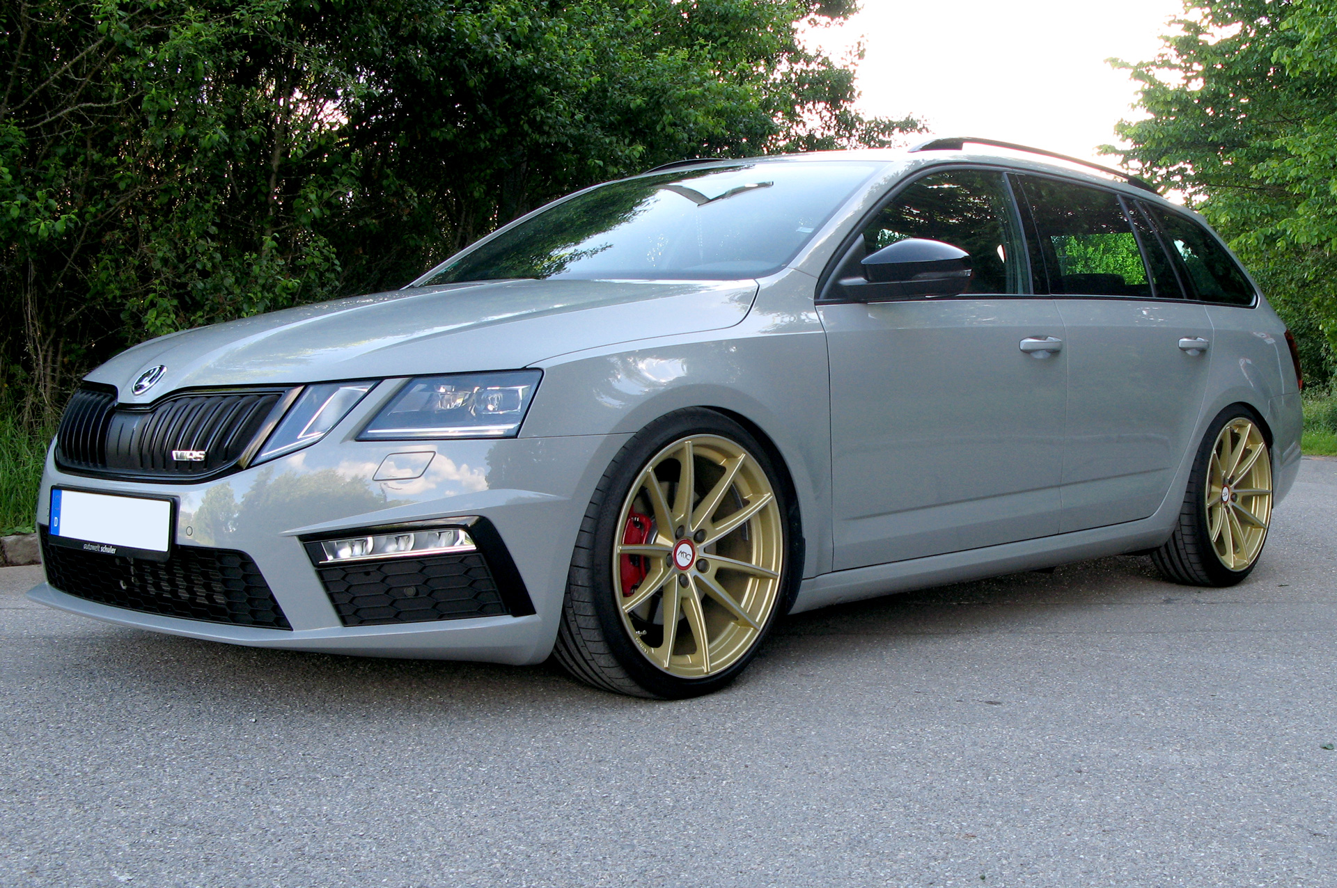 Skoda Octavia Rs 5e Facelift Deluxe Wheels Deutschland