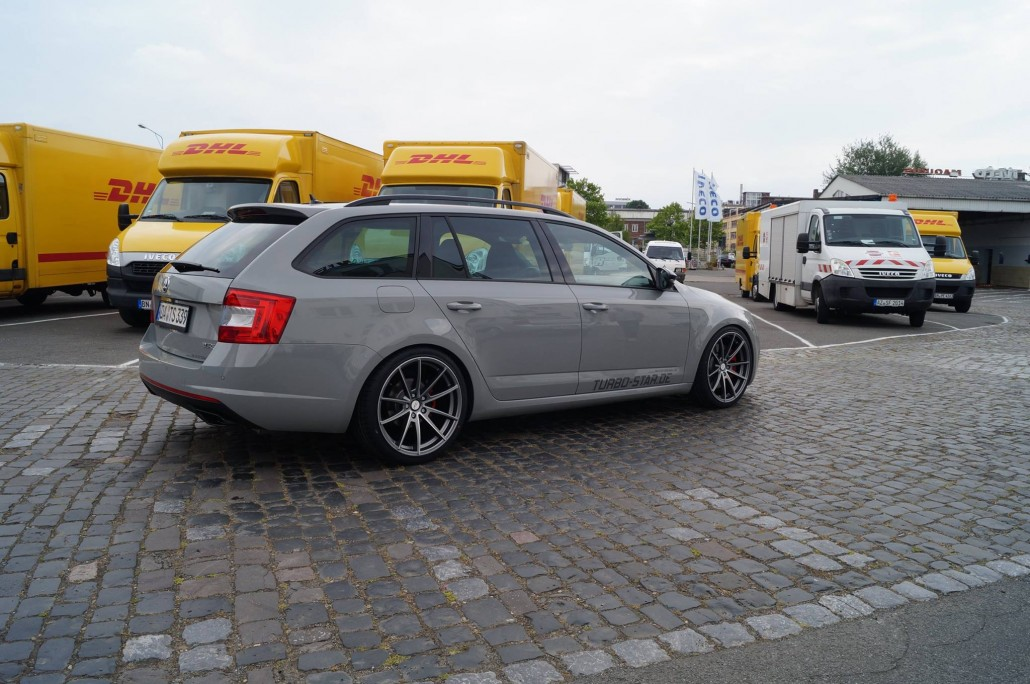 Skoda Octavia Rs Combi Quot Turbo Star Quot Mainhattan Wheels