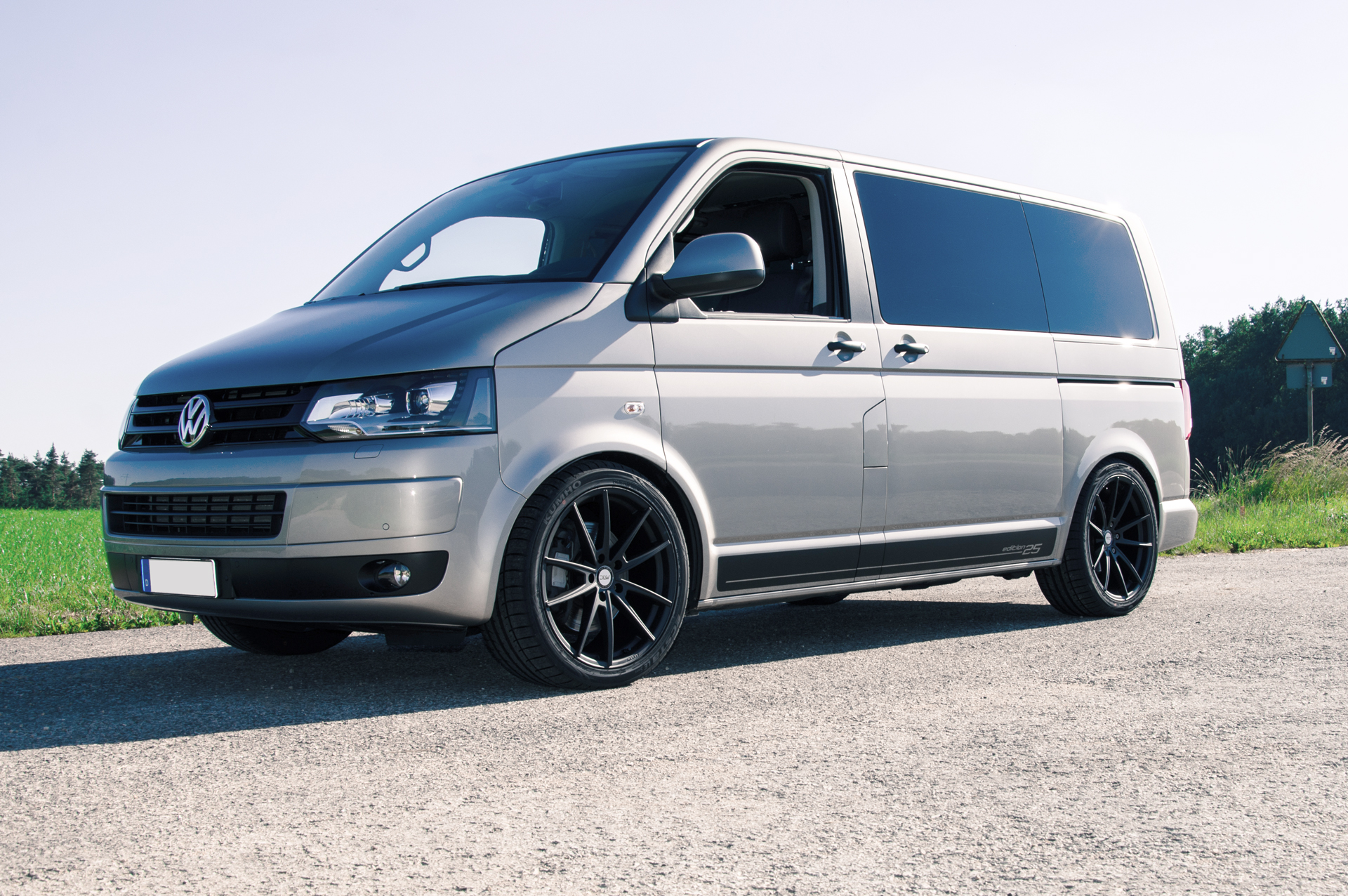 Vw T6 Bus Edition 25 Deluxe Wheels Deutschland